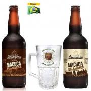 Kit de Cervejas Blumenau com Caneca Munich Confraria Hallertau de 500 ml