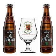 Kit de Cervejas Bodebrown St Arnould 8 com Taça Hallertau