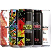Kit de Cervejas Bold Brewing contendo 5 Rótulos