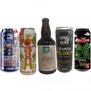 Kit de Cervejas Cevada Pura com 5 Rótulos
