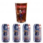 Kit de Cervejas Cevada Pura IPA e copo Trooper Pint
