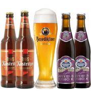 Kit de Cervejas da Alemanha com Copo Gratuito