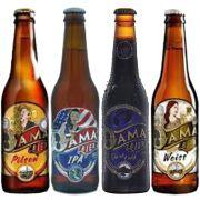 Kit de cervejas Dama Bier contendo 4 rótulos