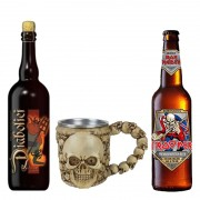 Kit de Cervejas Diabolici e Trooper com Caneca Cranio