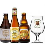 Kit de Cervejas do Estilo Belgian Tripel com Taça Hallertau 400 ml