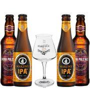Kit de Cervejas do Estilo English Ipa com Taça