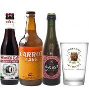 Kit de Cervejas do Estilo Sour com Copo Hallertau