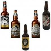 Kit de Cervejas Doktor Brau com 5 rótulos