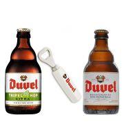 Kit de Cervejas Duvel com Abridor Gratuito
