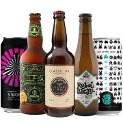 Kit de Cervejas Escolas IPA contendo 5 Rótulos