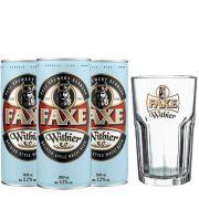 Kit de Cervejas Faxe Witbier com Copo Gratuito