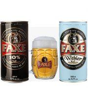 Kit de Cervejas Faxe Witbier e Strong com Caneca Gratuita