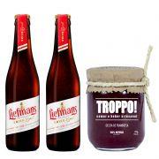 Kit de Cervejas Fruit Lambic com Geleia Troppo Framboesa