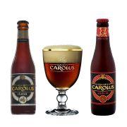 Kit de Cervejas Gouden Carolus com Taça