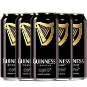 Kit de Cervejas Guinness Draught contendo 5 Rótulos
