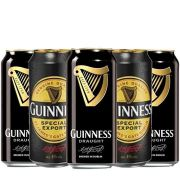 Kit de Cervejas Guinness Export e Draught