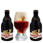 Kit de Cervejas Gulden Draak 9000 com Copo