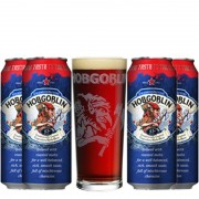 Kit de Cervejas Hobgoblin com Copo Pint 568 ml