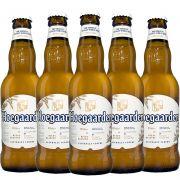 Kit de Cervejas Hoegaarden Witbier contendo 5 Rótulos
