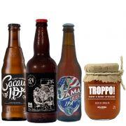 Kit de Cervejas Ipa com Geleia Troppo Ipa