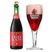 Kit de Cervejas Kriek Boon com Taça 300 ml