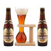 Kit de Cervejas Kwak com Copo