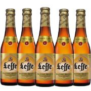 Kit de Cervejas Leffe contendo 5 Rótulos
