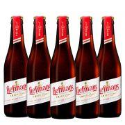 Kit de Cervejas Liefmans Kriek Brut contendo 5 Rótulos
