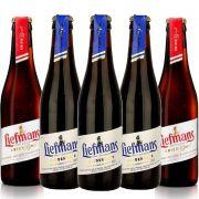 Kit de Cervejas Liefmans Misto Contendo 5 Rótulos