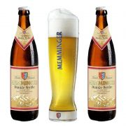 Kit de Cervejas Memminger Dunkle Weisse com Copo