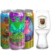 Kit de Cervejas Odisseia com Copo Ipa Hallertau de 440 ml