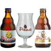 Kit de Cervejas Piraat com Taça 250 ml