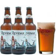 Kit de Cervejas Revenge com Copo Pint 450 ml