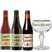 Kit de Cervejas Rochefort com Taça
