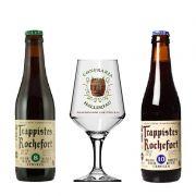 Kit de Cervejas Rochefort com Taça Hallertau