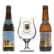 Kit de Cervejas St Bernardus com Taça Hallertau