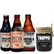 Kit de Cervejas Stout com Geleia Troppo Stout
