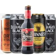 Kit de Cervejas Stout contendo 5 Rótulos