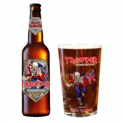 Kit de Cervejas Trooper com Copo Pint