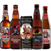 Kit de Cervejas Trooper Iron Maiden com 5 Rotulos
