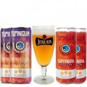 Kit de Cervejas Tupiniquim com Taça Jenlan 250 ml