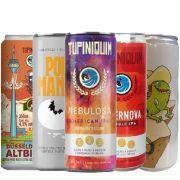 Kit de Cervejas Tupiniquim Contendo 5 Latas de 350 ml