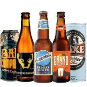 Kit de Cervejas Witbier contendo 5 Rótulos