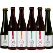 Kit de Cervejas Zalaz Edição Limitada contendo 6 Rótulos