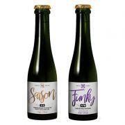 Kit de Cervejas Zalaz Spontaneus Contendo 2 Rótulos