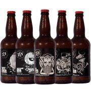 Kit de Cervejas Zev contendo 5 Rótulos
