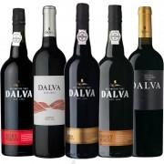Kit de Vinhos Dalva Porto Contendo 5 Rótulos