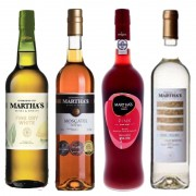 Kit de Vinhos Martha's Contendo 4 Rotulos