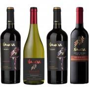 Kit de Vinhos Nancul contendo 4 Rótulos