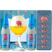Kit Delirium Tremens 2 Cervejas com a Taça Nova de 330 ml